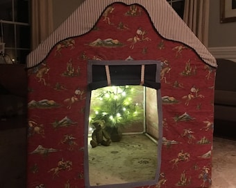 Spring clean sale!!! Almost half off!!!Cowboy playhouse tent boy ready to ship in time for Christmas!