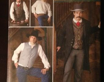 Simplicity Pattern 2895 Western wear Steampunk Costume sizes BB 46 48 50 52
