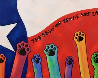 The Paws of Texas are upon you...