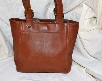 On Sale COACH~Coach Bag~British Tan  Shoulder Bag~Coach Tote ~Excellent Condition Brass Hardware Hang Tag