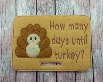 Countdown to Thanksgiving, Turkey Countdown, Holiday Countdown