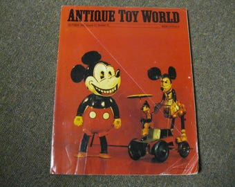 Antique Toy World Toys & More October 1993 Issue to Read - Dream - Plan Photos, Stories, Articles, Prices to Compare Values and References