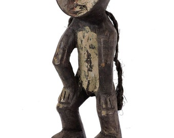 Mbole Male Ofika Miniature Hanged Man Congo African Art 109177