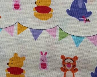 Nov Special Half yard baby Winny the pooh Disney fabric Winny the pooh printed