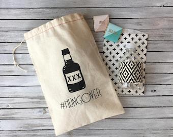 Hangover Kit Bags - Bachelorette Party Favors - Bachelorette Party Bags - Bachelorette Hangover Kits - Bachelor Party Bags - #hungover