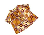 Baby boy shirt in African print, African clothing for boys, ready to ship, ages 6 months to 8 years.