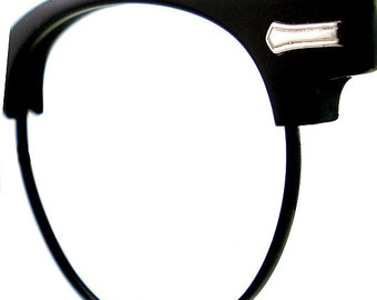Vintage Shuron Ronsir Browline Eye Glasses Eyeglasses Sunglasses Frame Eyewear