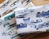 m118_55 - cars fabrics - cotton linen - Half Yard ( 3 color )