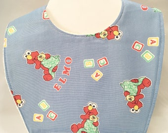 Elmo Baby Shower, Elmo Birthday, Baby Bibs, Toddler Bibs, Baby Shower Gift, New Baby Gift, New Mom Gift, Dribble Bibs, Baby Bib, Toddler Bib