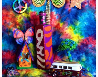 Party Of Love, Peace, And Happiness Gypsy Bottle