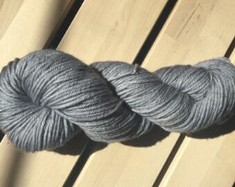 Tarnish Worsted weight merino yarn