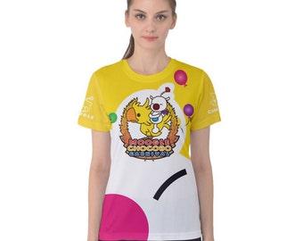 Moogle Chocobo Carnival Shirt Women's Sizes