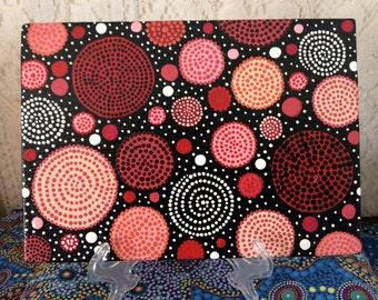 Circles of Life (Dot Painting)