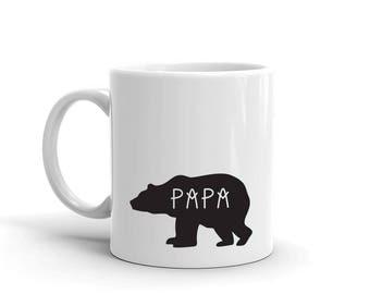 Papa Bear Mug, Studio 336, gift, 11oz, 15oz