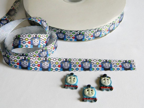 Thomas The Tank Engine Ribbon And Resins 3 Yards Of 7 8