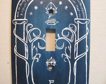 Lord of the Rings Doors of Durin Switch Plate