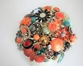 Listing for Hope vintage brooch bouquet