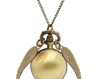 """Shop """"golden snitch necklace"""" in Watches"""