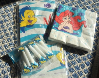 Little mermaid party pack