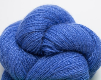 Lapis Blue Lace Weight Recycled Cashmere Yarn, CSH00229
