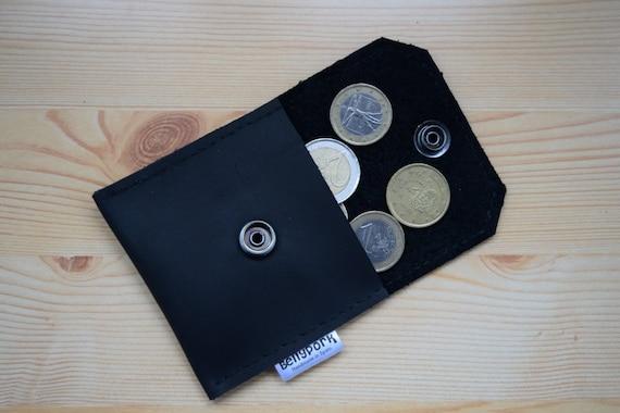 Mini coin purse,leather change purse,change purse leather,black leather purse,mens coin purse,mini change purse,black leather wallet