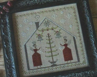 O' Tannenbaum Christmas cross stitch pattern by Pineberry Lane at thecottageneedle.com