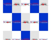 50% off INSTANT DOWNLOAD - Printable Mini Candy Bar Wrappers - Congenital Heart Defect Awareness - Red and Blue - Memorable Moments Studio