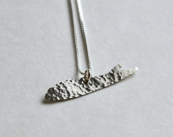 Long Island Necklace (sterling silver)