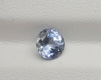 1.28ct Blue Sapphire 6.49×6.36×3.99