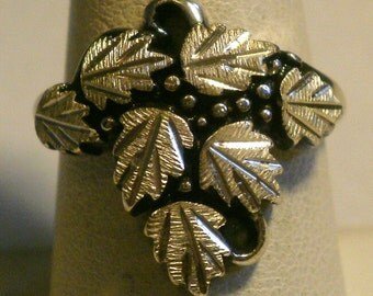 Black Hills Sterling Silver Ring-Size 8