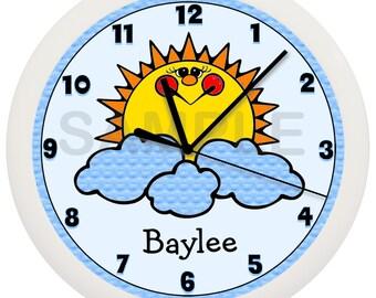 Personalized Sunshine Wall Clock
