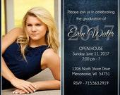 Graduation Invitations,Senior Invitations, Graduation Invites, Announcement, Senior Announcements, Photo Cards, Party Cards, Erin W