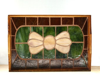 Glass Mosaic Wood Tray Rustic Old World