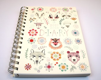 2017 / 2018 Illustrated Menagerie Diary