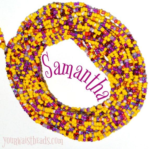 Waist Beads ~Samantha ~ YourWaistBeads.com