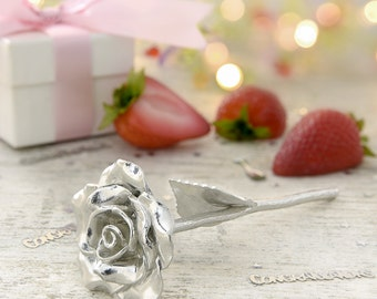 4th Anniversary Gift Everlasting Rose - 4 Year Anniversary Gift Idea
