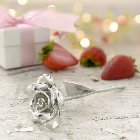 Traditional Gift For 4th Wedding Anniversary: 4th Anniversary Gift Everlasting Rose 4 Year Anniversary