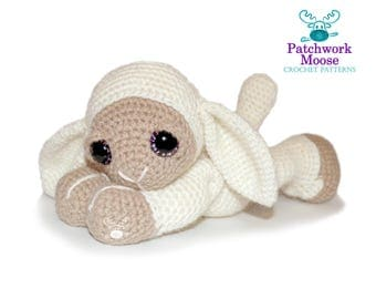 Lamb Amigurumi Crochet Pattern PDF Instant Download - Aneira