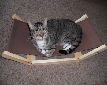 Kitty Hammock with removable canvas hammock