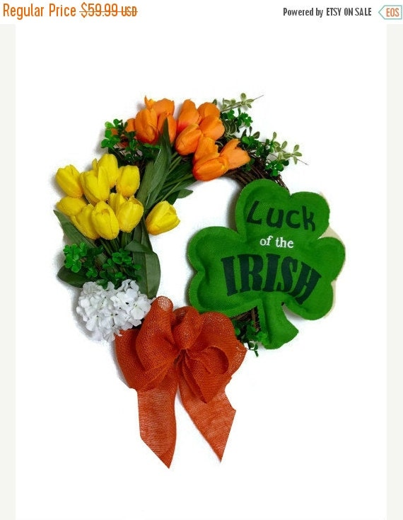 On Sale St Patrick 39 S Day Shamrock Handmade By Perpetualposy