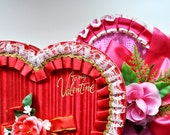 Vintage Valentine Heart Candy Boxes