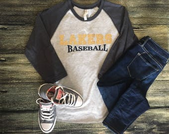 Lakers baseball T
