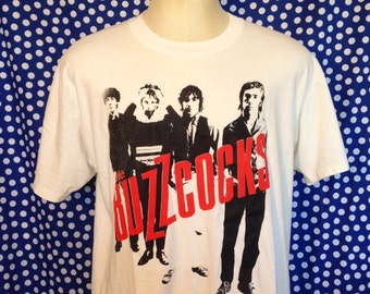 1980's Buzzcocks t-shirt, fits like a large