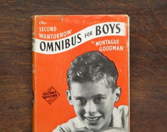 Vintage boys' book 1950s general knowledge book The Questions of Jack Wantoknow