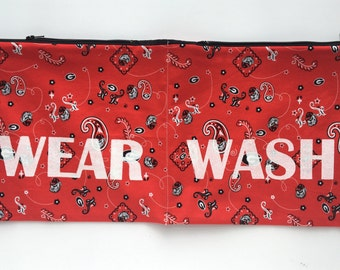 Georgia UGA Bulldogs Wear and Wash Travel Laundry Bag