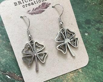 Shamrock Dangle Earrings