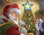 "mystery yarn box . ""Twas the night before Christmas """