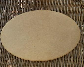 Oval Wood Shape MDF