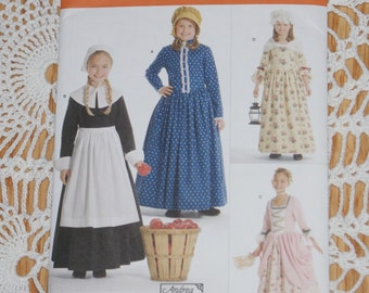 New Simplicity Andrea Schewe Child's Costumes  Pattern 3725 HH  Size 3,4,5,6