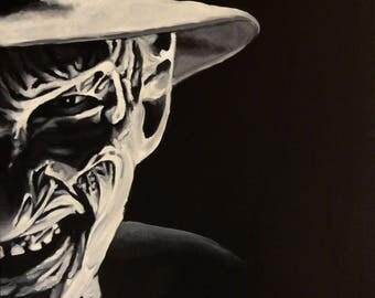 """Freddy 5""""x7"""" Fridge Magnet from Art by Lee Howard"""